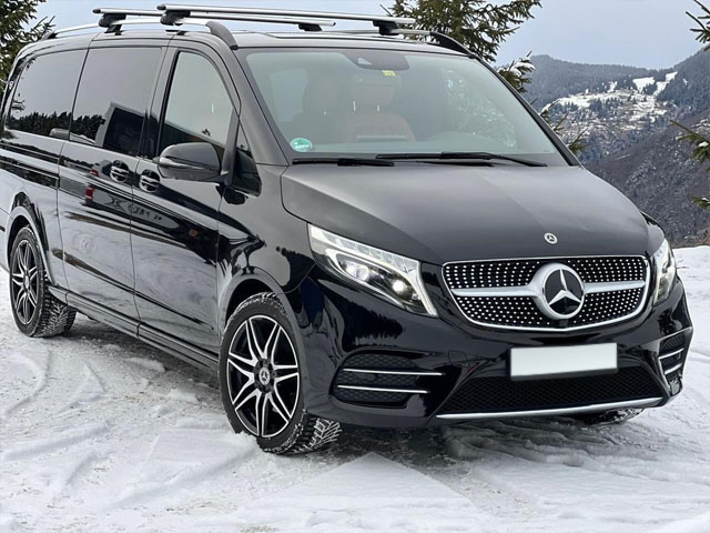 Booking and rental minivan, minibus, VAN 7-seats in Charleroi