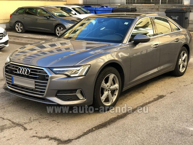 Rental Audi A6 45 TDI Quattro in Brussels