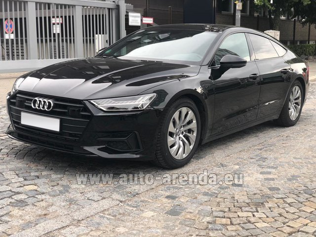 Rental Audi A7 50 TDI Quattro Equipment S-Line in Belgium