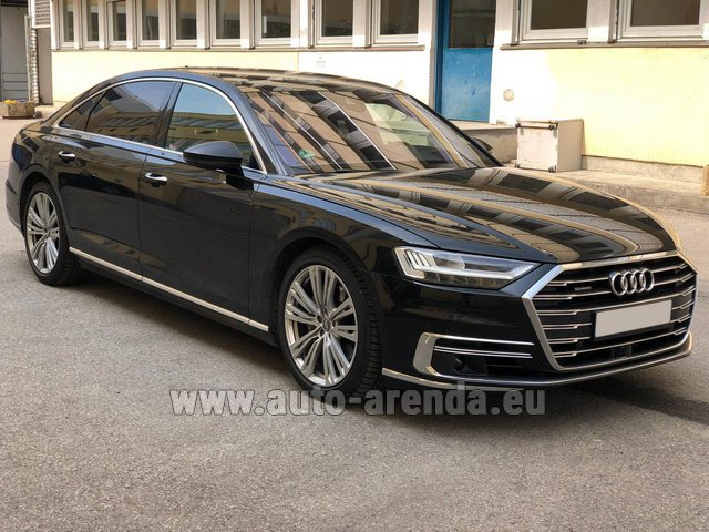 Rental Audi A8 Long 50 TDI Quattro in Belgium