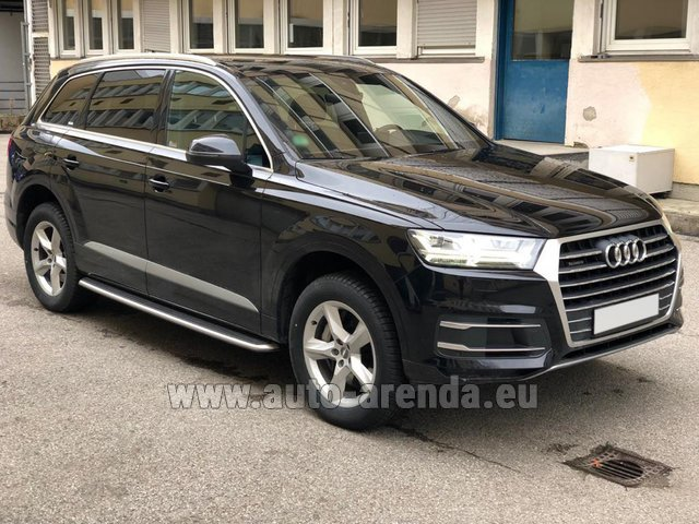 Rental Audi Q7 50 TDI Quattro 5-7 seats in Antwerp