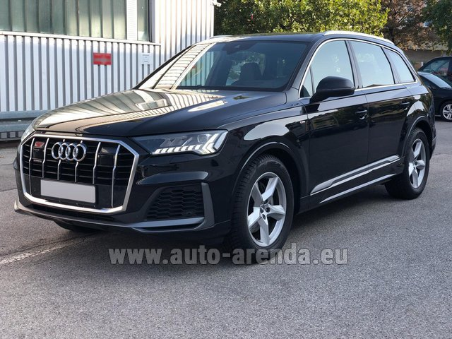 Прокат Ауди Q7 50 TDI Quattro Equipment S-Line (5 мест) в Брюгге