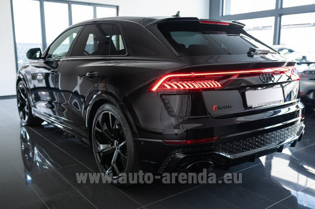 Rental Audi RS Q8 in Belgium
