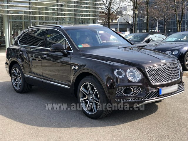 Rental Bentley Bentayga 6.0 Black in Ghent