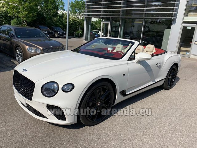 Rental Bentley GTC W12 First Edition 2019 in Belgium