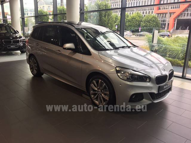 Rental BMW 2 Gran Tourer Equipment M Sport in Ghent