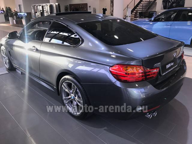 Rental BMW 420d xDrive Coupe M Sportpaket in Antwerp