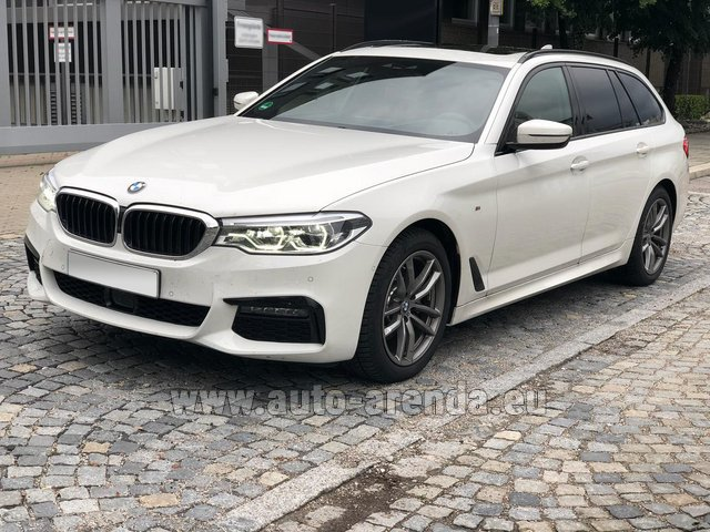 Rental BMW 520d xDrive Touring M equipment in Antwerp