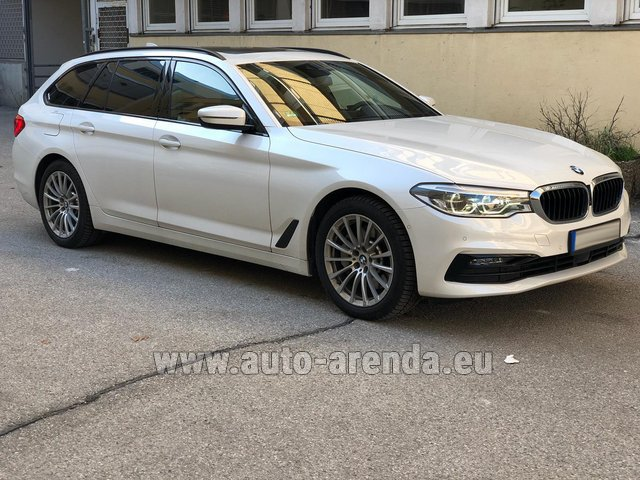 Hire and delivery to Brussels Airport the car BMW 5 Touring Equipment M Sportpaket