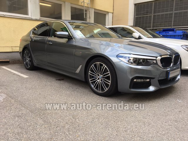 Rental BMW 540i M in Belgium