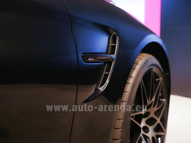 Rental BMW M4 Cabrio Performance Individual in Antwerp