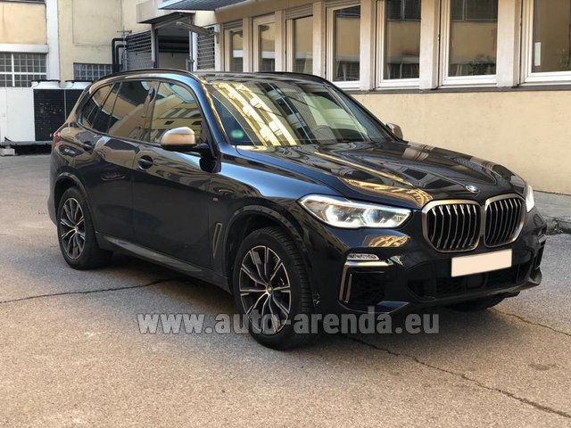Rental BMW X5 M50d XDRIVE in Liege