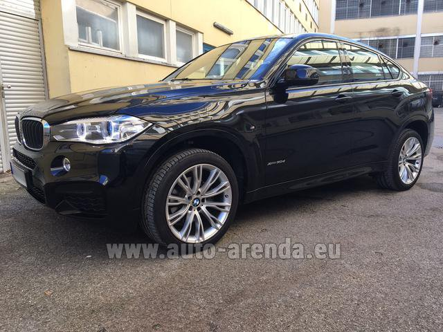 Прокат БМВ X6 3.0d xDrive High Executive M спорт пакет в Шарлеруа