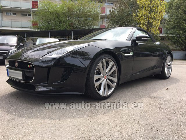 Rental Jaguar F Type 3.0L in Charleroi
