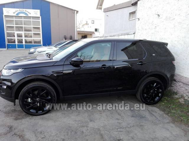 Rental Land Rover Discovery Sport HSE Luxury (5-7 Seats) in Charleroi