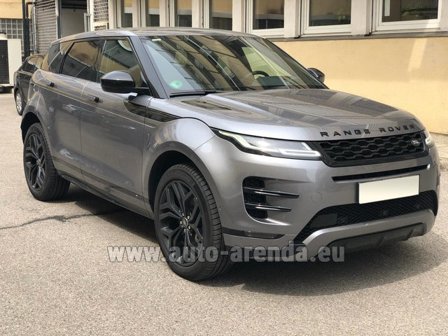 Rental Land Rover Range Rover Evoque D180SE in Bruges