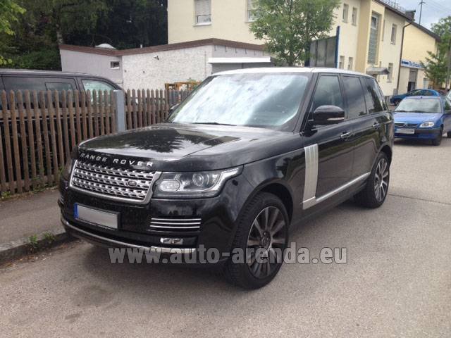 Rental Land Rover Range Rover SDV8 Autobiography in Bruges