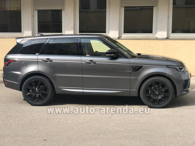Rental Land Rover Range Rover Sport SDV6 Panorama 22 in Bruges