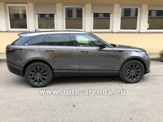 Rental Land Rover Range Rover Velar P250 SE in Bruges