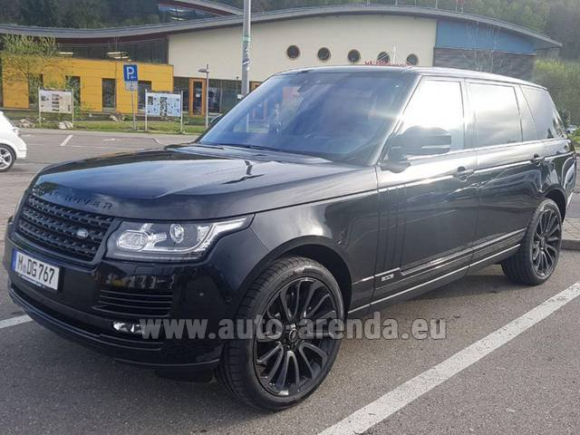Rental Land Rover Range Super Charge 5.0L Long in Charleroi