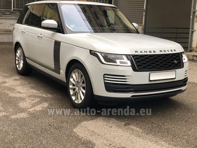 Rental Land Rover Range Rover Vogue P525 in Bruges