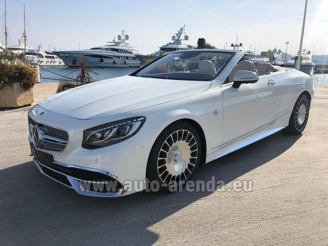 Rental Maybach S 650 Cabriolet, 1 of 300 Limited Edition in Belgium