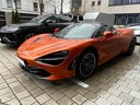 Rent-a-car McLaren 720S with its delivery to Brussels Airport, photo 2