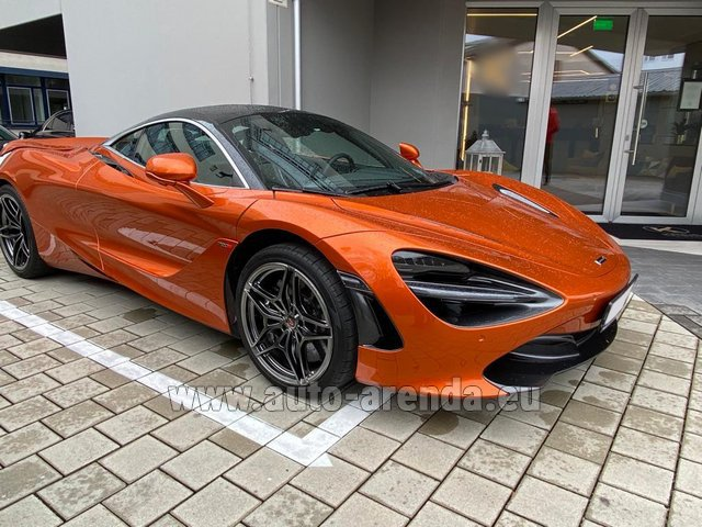 Rental McLaren 720S in Liege