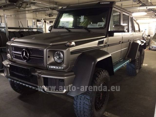 Rental Mercedes-Benz 6x6 AMG 6.3 in Bruges