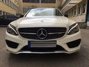 Rent-a-car Mercedes-Benz C-Class C43 AMG Biturbo 4MATIC White in Antwerp, photo 2