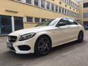 Rent-a-car Mercedes-Benz C-Class C43 AMG Biturbo 4MATIC White in Antwerp, photo 1