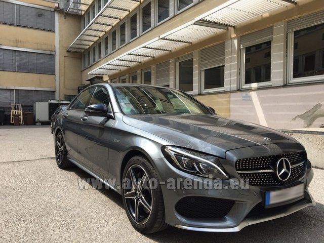 Hire and delivery to Brussels Airport the car Mercedes-Benz C-Class C43 AMG BITURBO 4Matic