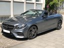 Rent-a-car Mercedes-Benz E 450 Cabriolet AMG equipment with its delivery to Brussels Airport, photo 1