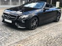 Rent-a-car Mercedes-Benz E-Class E220d Cabriolet AMG equipment in Belgium, photo 1
