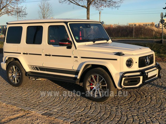 Rental Mercedes-Benz G 63 AMG White in Antwerp