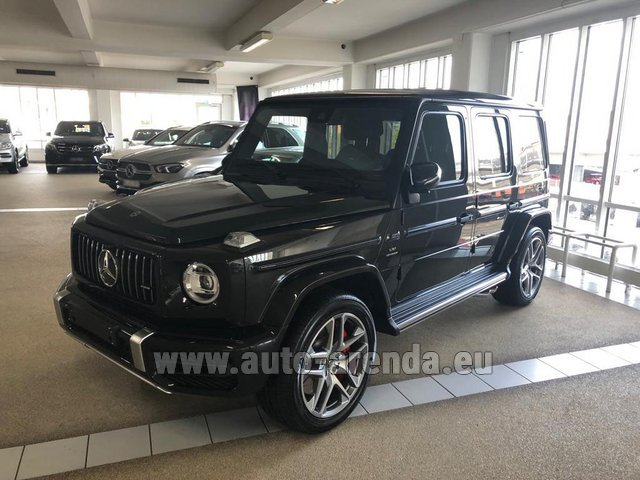Rental Mercedes-Benz G63 AMG V8 biturbo in Bruges