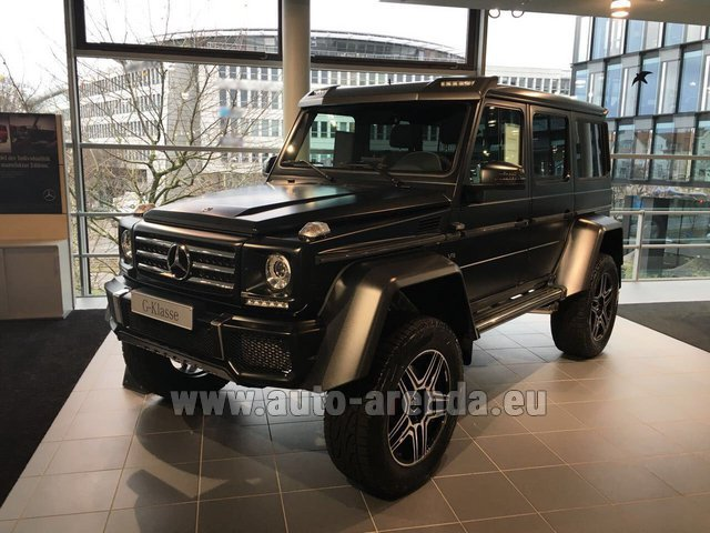 Rental Mercedes-Benz G-Class G 500 4x4² V8 in Belgium