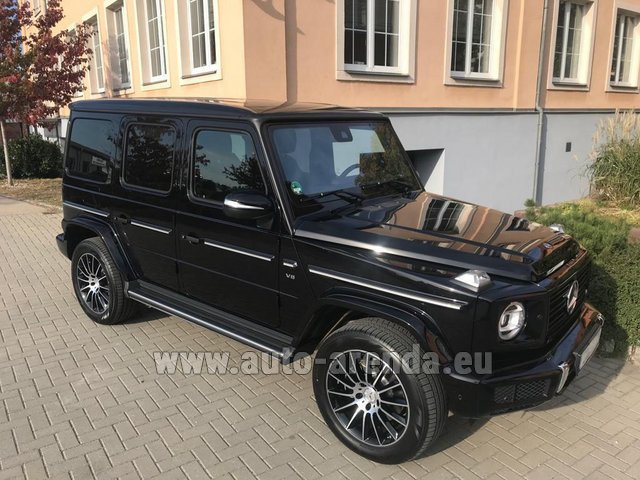 Rental Mercedes-Benz G-Class G500 2018 Exclusive Edition in Brussels