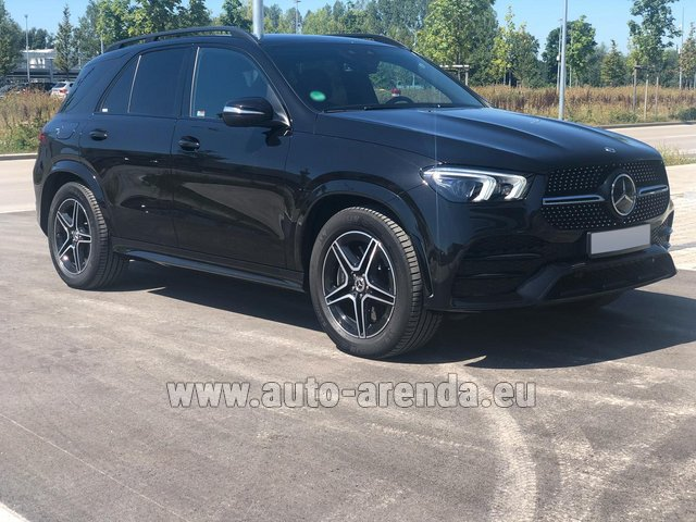 Прокат Мерседес-Бенц GLE 450 4MATIC AMG комплектация в Брюгге