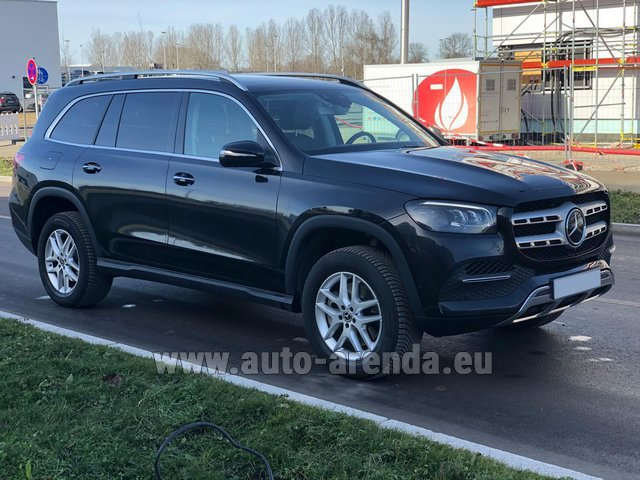 Прокат Мерседес-Бенц GLS 350 4Matic AMG комплектация в Брюгге