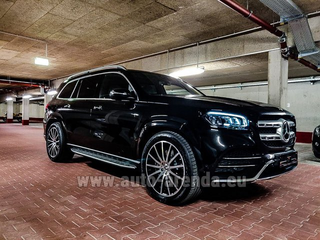 Прокат Мерседес-Бенц GLS 400d 4MATIC BlueTEC комплектация AMG в Брюгге