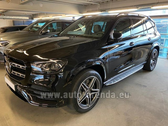 Прокат Мерседес-Бенц GLS 400d BlueTEC 4MATIC комплектация AMG в Брюгге