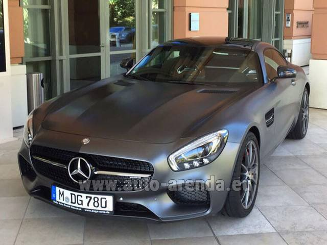 Rental Mercedes-Benz GT-S AMG in Antwerp