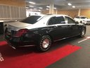 Прокат автомобиля Maybach S 560 4MATIC комплектация AMG Metallic and Black в Бельгии, фото 4