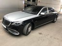 Rent-a-car Maybach S 560 4MATIC AMG equipment Metallic and Black in Antwerp, photo 3