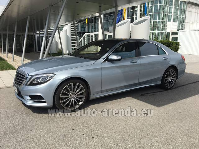 Rental Mercedes-Benz S 350 L BlueTEC 4MATIC AMG in Charleroi