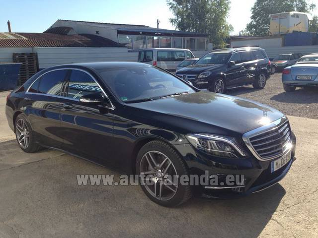 Rental Mercedes-Benz S 350 L BlueTEC AMG in Antwerp