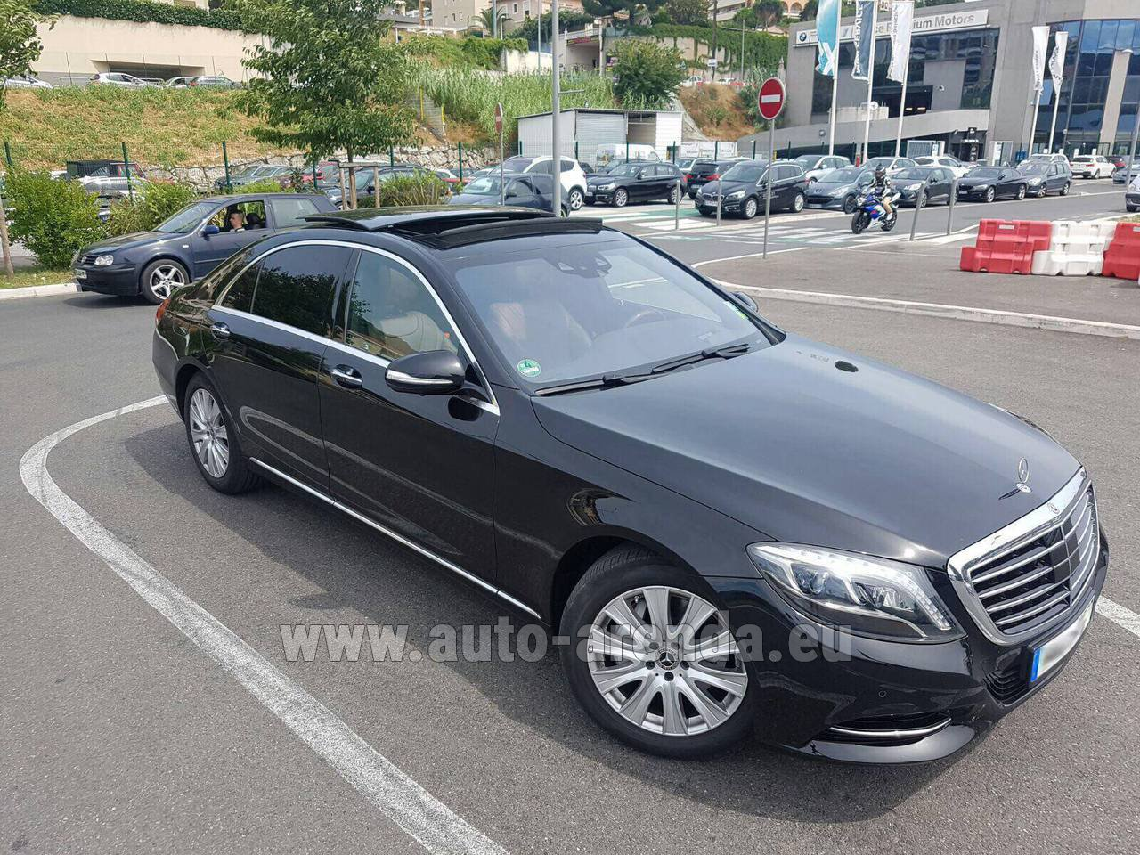 Ghent mercedes benz s 350 long amg rental for Mercedes benz rental prices