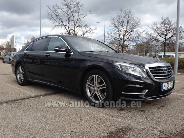 Rental Mercedes-Benz S 350 Long Diesel 4x4 AMG equipment in Antwerp