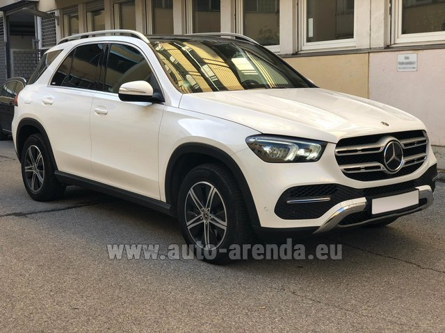 Hire and delivery to Brussels Airport the car Mercedes-Benz GLE 350 4Matic AMG equipment